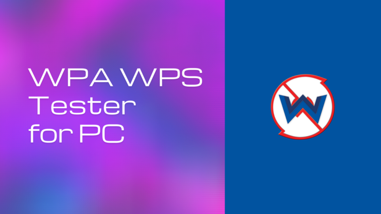 WPA WPS Tester for PC download